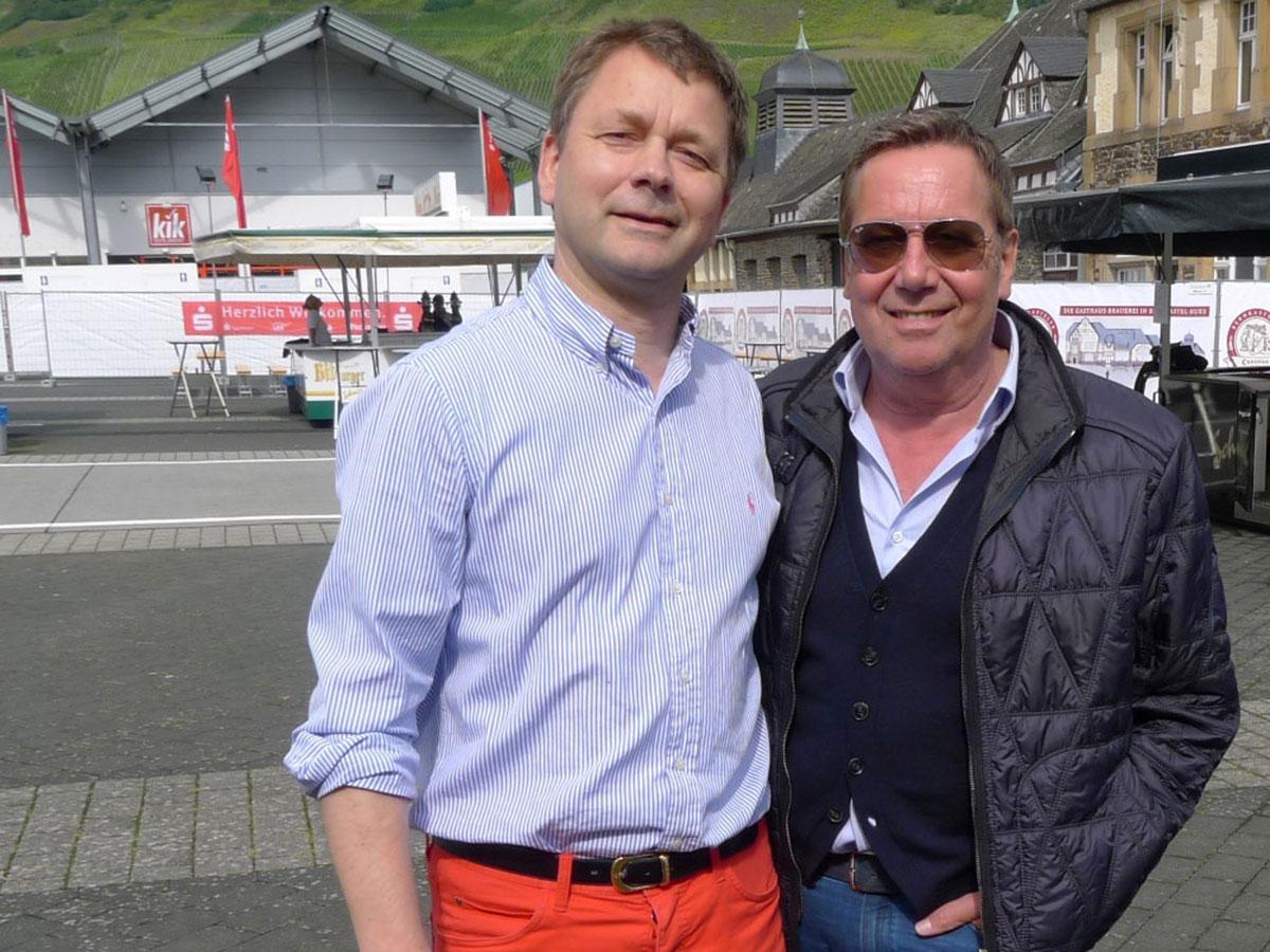 Roland Kaiser mit Künstlervermittlung Böttger Management