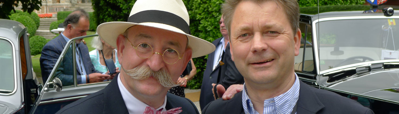 Horst Lichter trifft den Geschäftsführer von Böttger Management