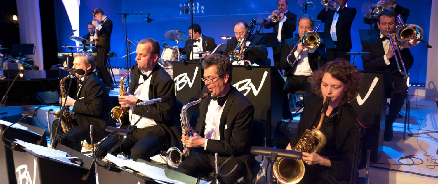 Big Band Björn Vüllgraf beim Grand Prix Ball in Baden-Baden