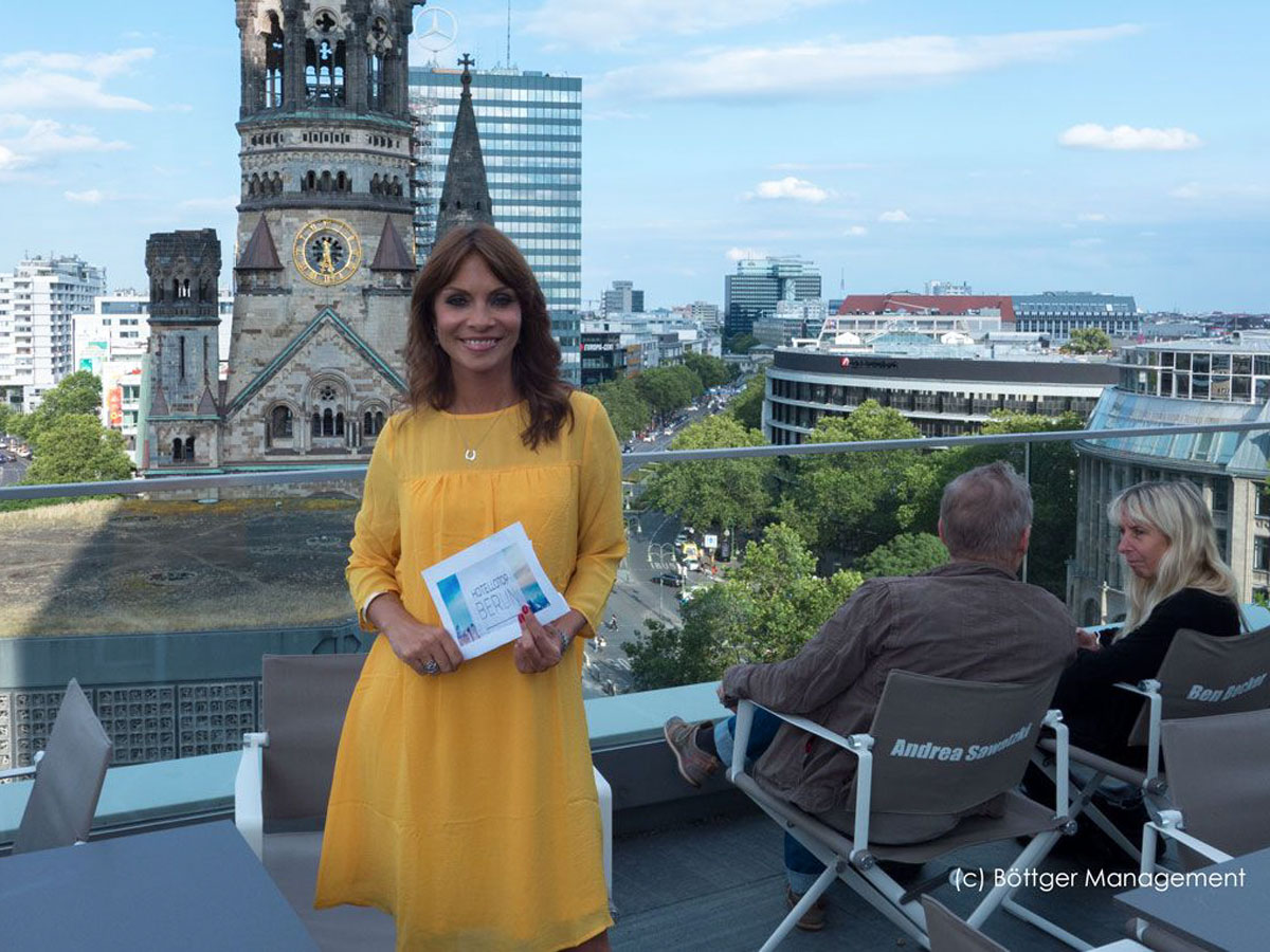 Moderatorin Jean Bork aus Berlin