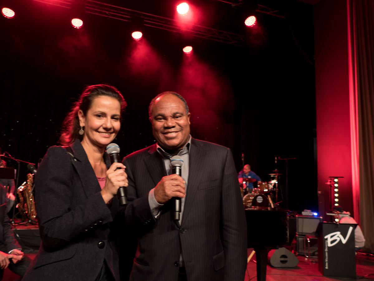 Katrin Huß als Moderatorin für Charity Event buchen