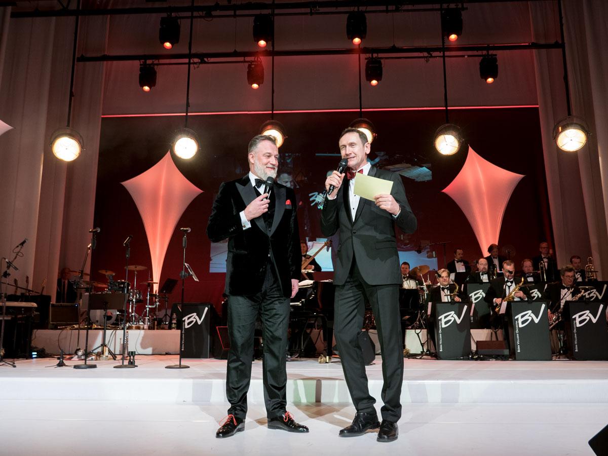 Grand Prix Ball Baden-Baden mit Moderator Markus Priester