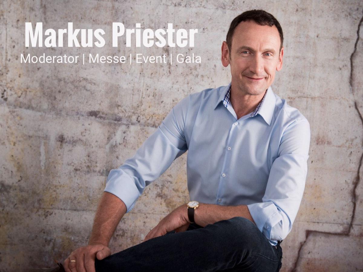 Markus Priester Moderator deutschlandweit buchen