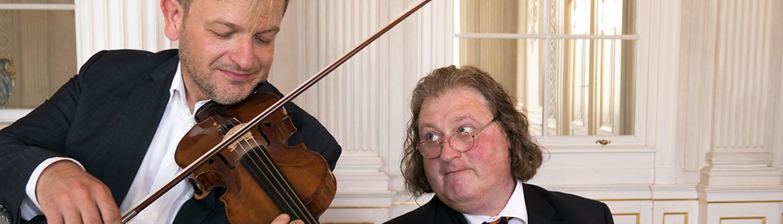 Humorvolle und amüsante Klassik mit dem Franz Liszt-Duo