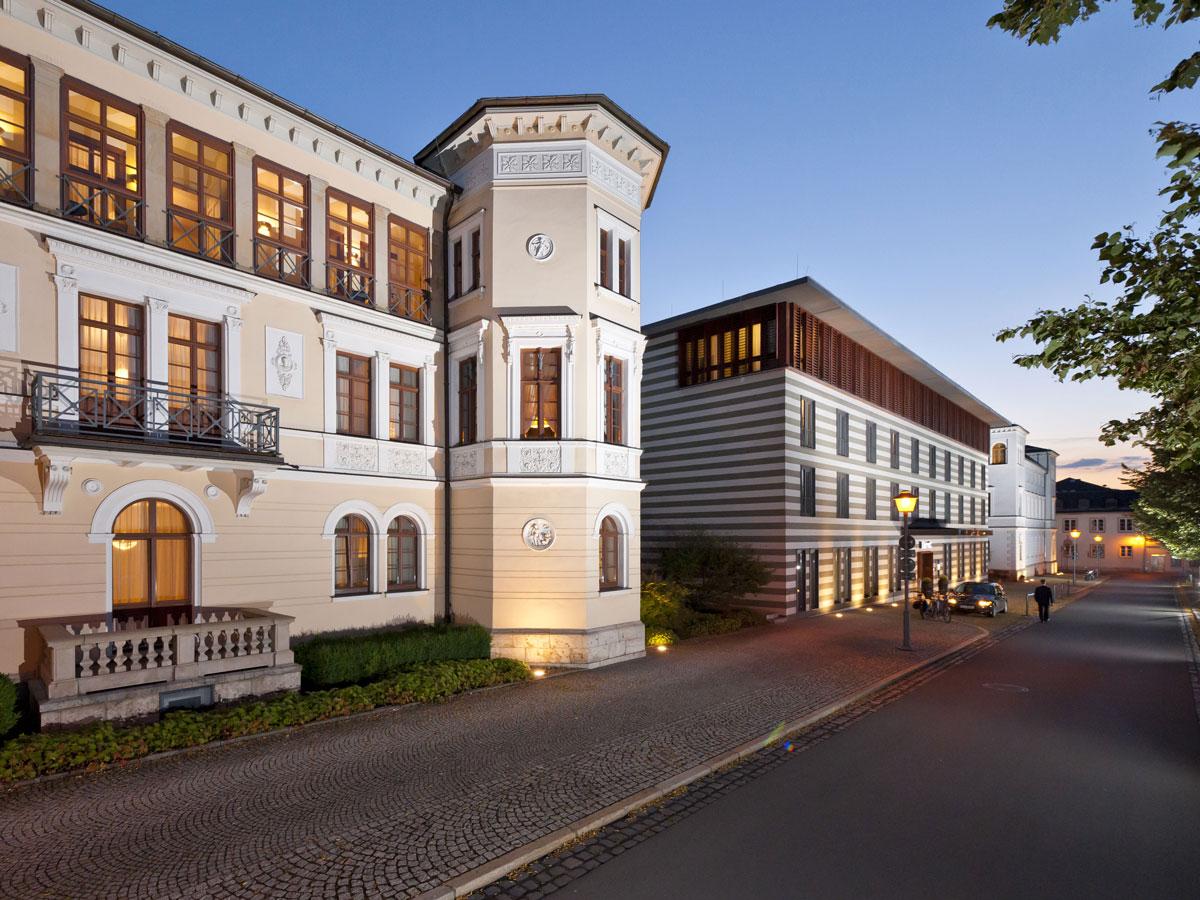 Humorvolle Klassik amüsant und launig mit Franz Liszt-Duo Schloss Ettersburg