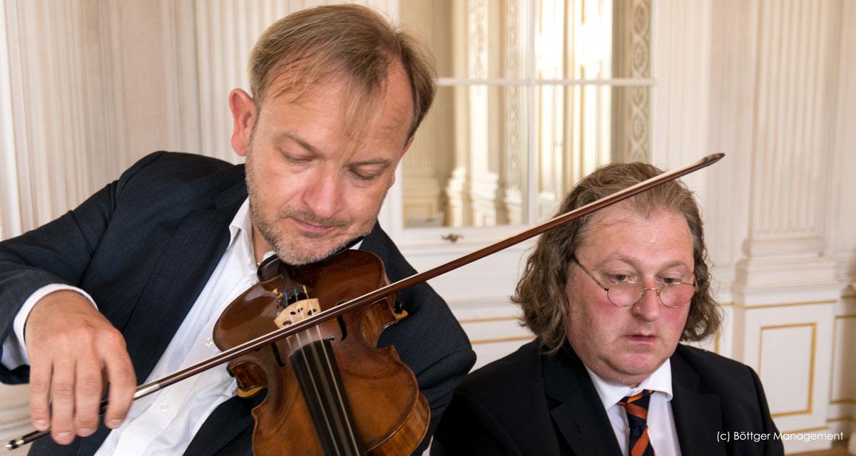 Franz Liszt Duo spielt Konzerte amüsant und launig