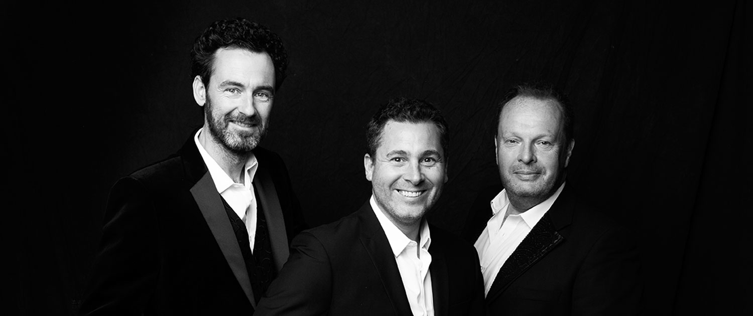 The Celtic Tenors singen mit Leidenschaft