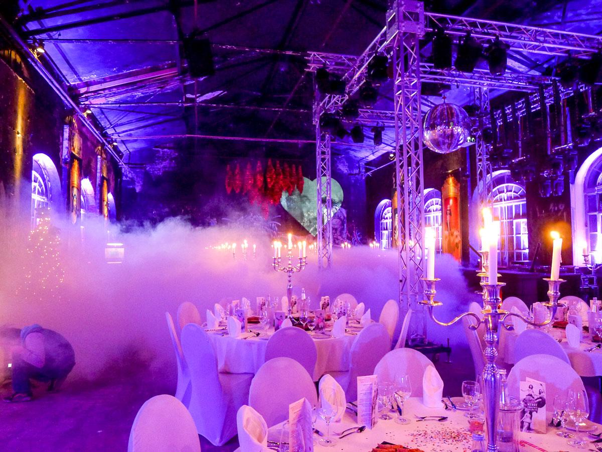 Firmenweihnachtsfeier planen und Location rechtzeitig buchen