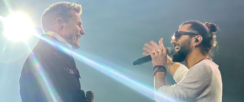 Sänger Joyello Sabatelli rockt mit Dieter Bohlen Mega Tournee 2020