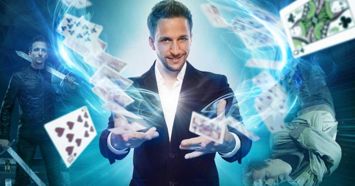 Zauberkünstler buchen - Magier Peter Valance